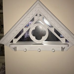 Gothic style shabby chic wall mirror